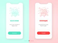 Flash Message - Error/Success - Daily UI 011