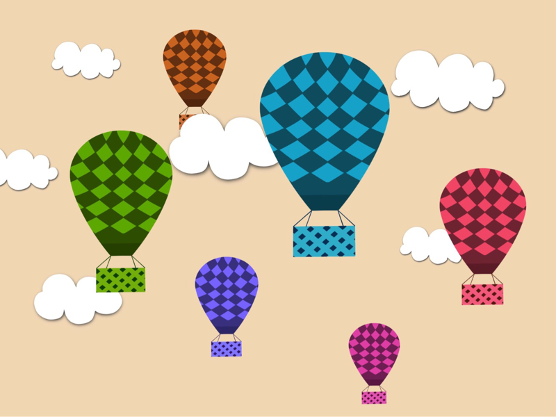 Ballooning nature clouds sky gas balloon