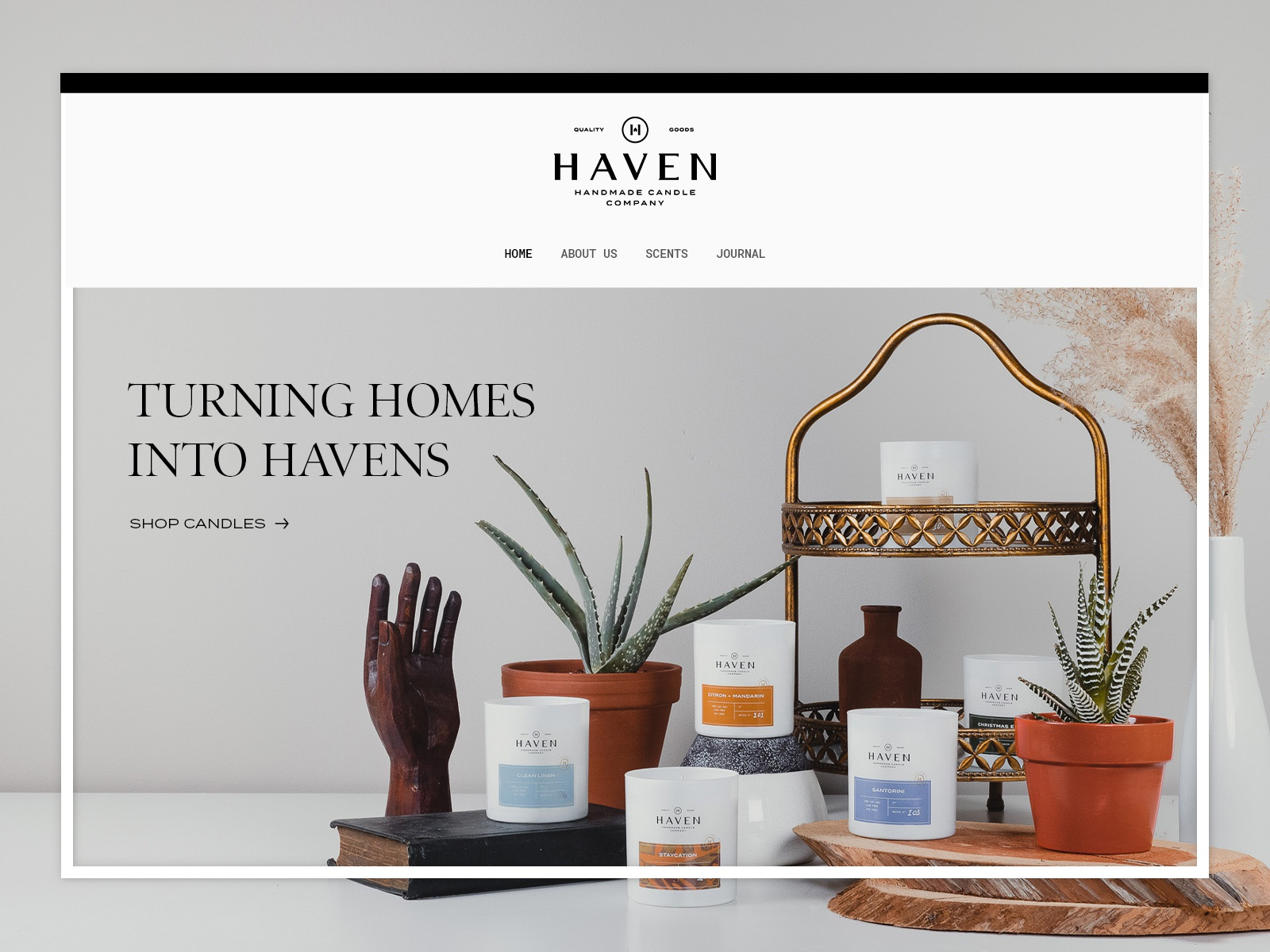 Haven Candle Co. | Website