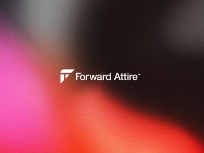 Forward Attire Update texture t-shirt tshirt tag clothing company clothing attire shirt f forward apparel geometric minimal bold simple logo design brand branding logo design
