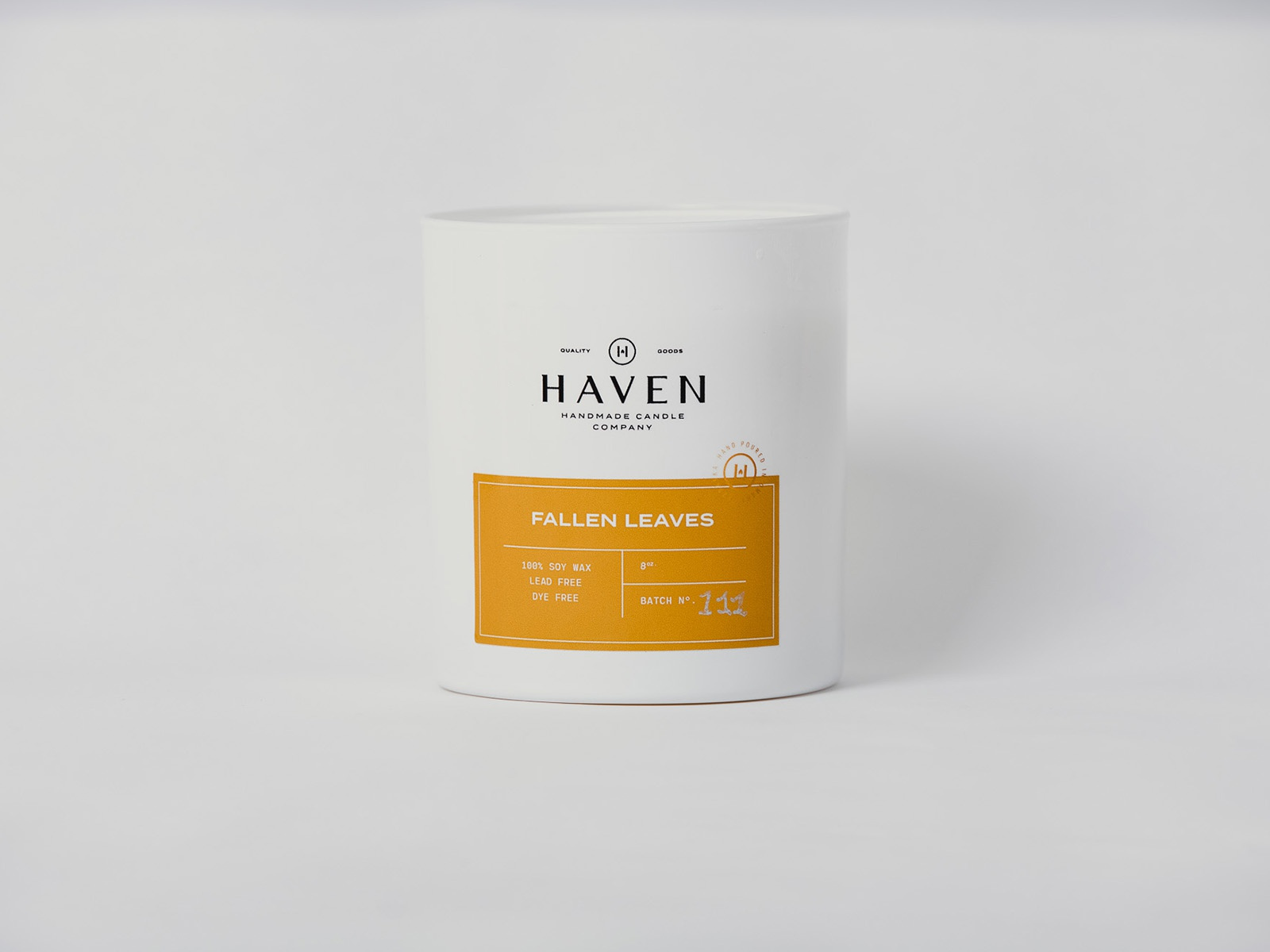 Haven Candle Co   Fall Release