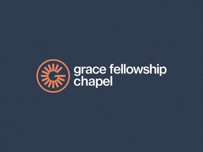 Grace Fellowship Chapel | Brand Identity & Website Design wordpress press word divi website web g faith ministry church minimal bold simple logo design brand branding logo design
