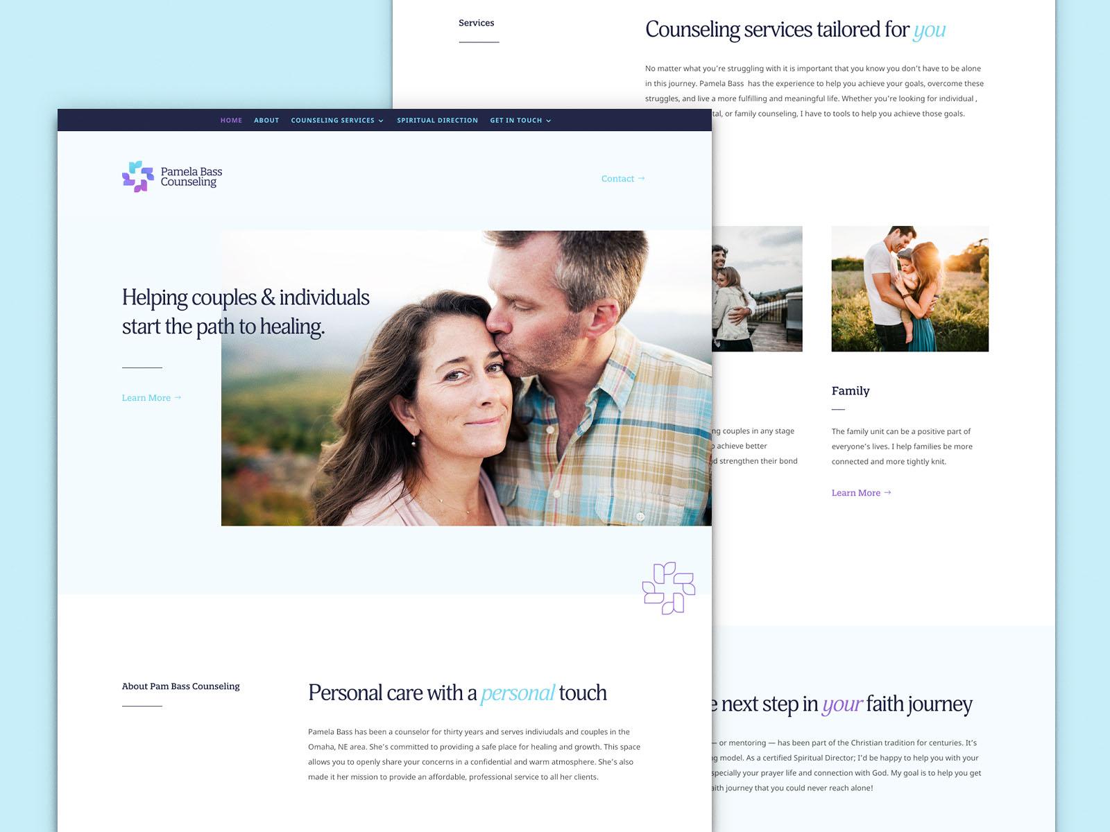 Pam Bass Counseling   Website