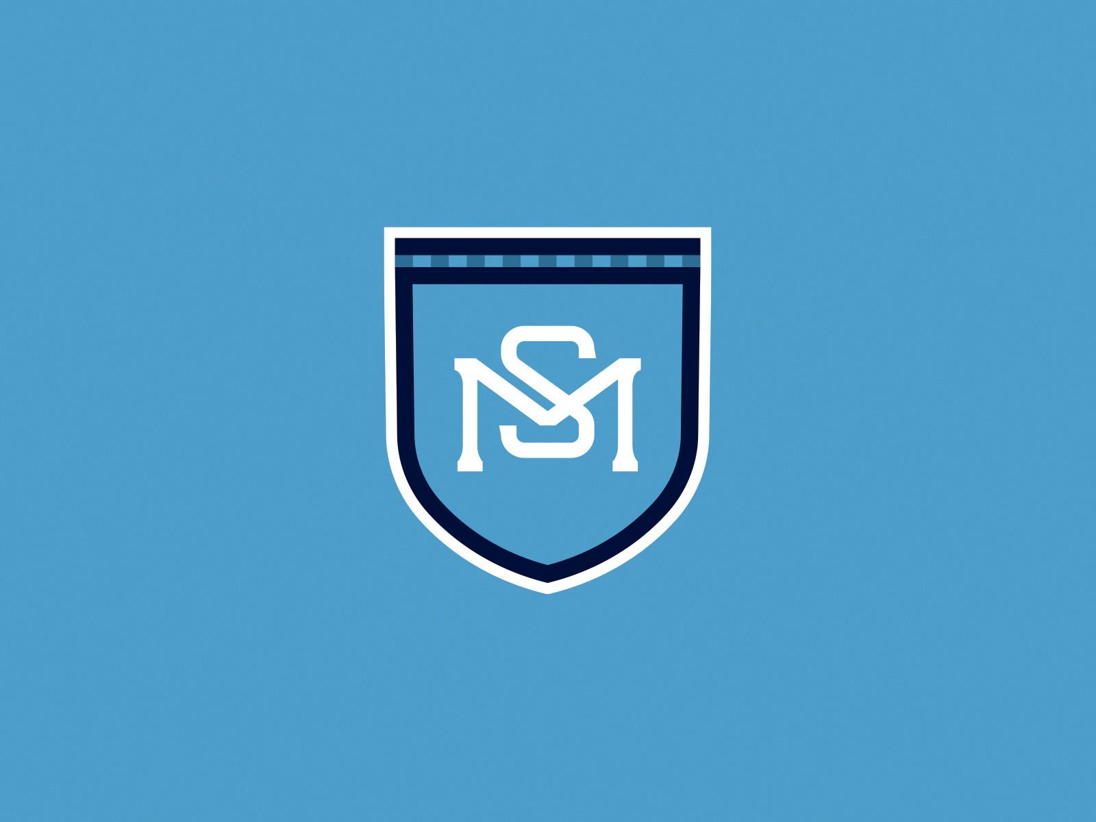 SM Monogram Shield
