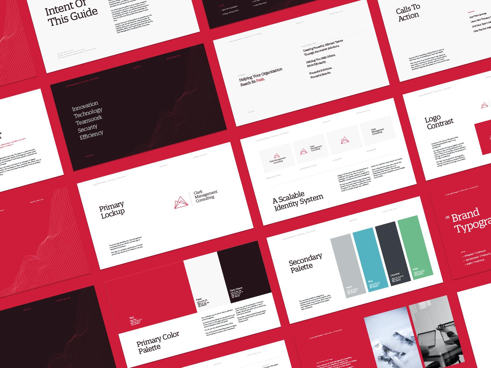 Clark Management Consulting | Brand Identity