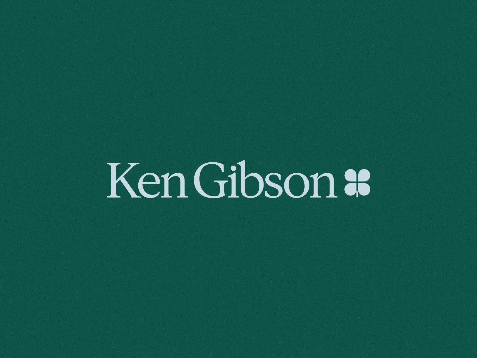Ken Gibson | Brand Identity 🍀