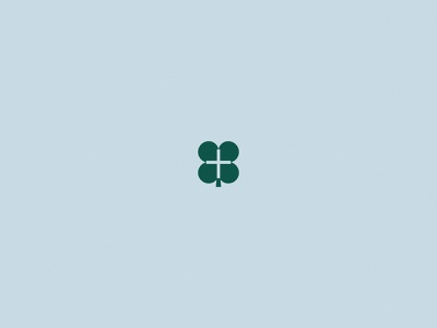 Ken Gibson | Brand Identity 🍀 cross irish ireland clover philanthropy ministry faith pastor speaker bold minimal logo design simple brand branding logo design