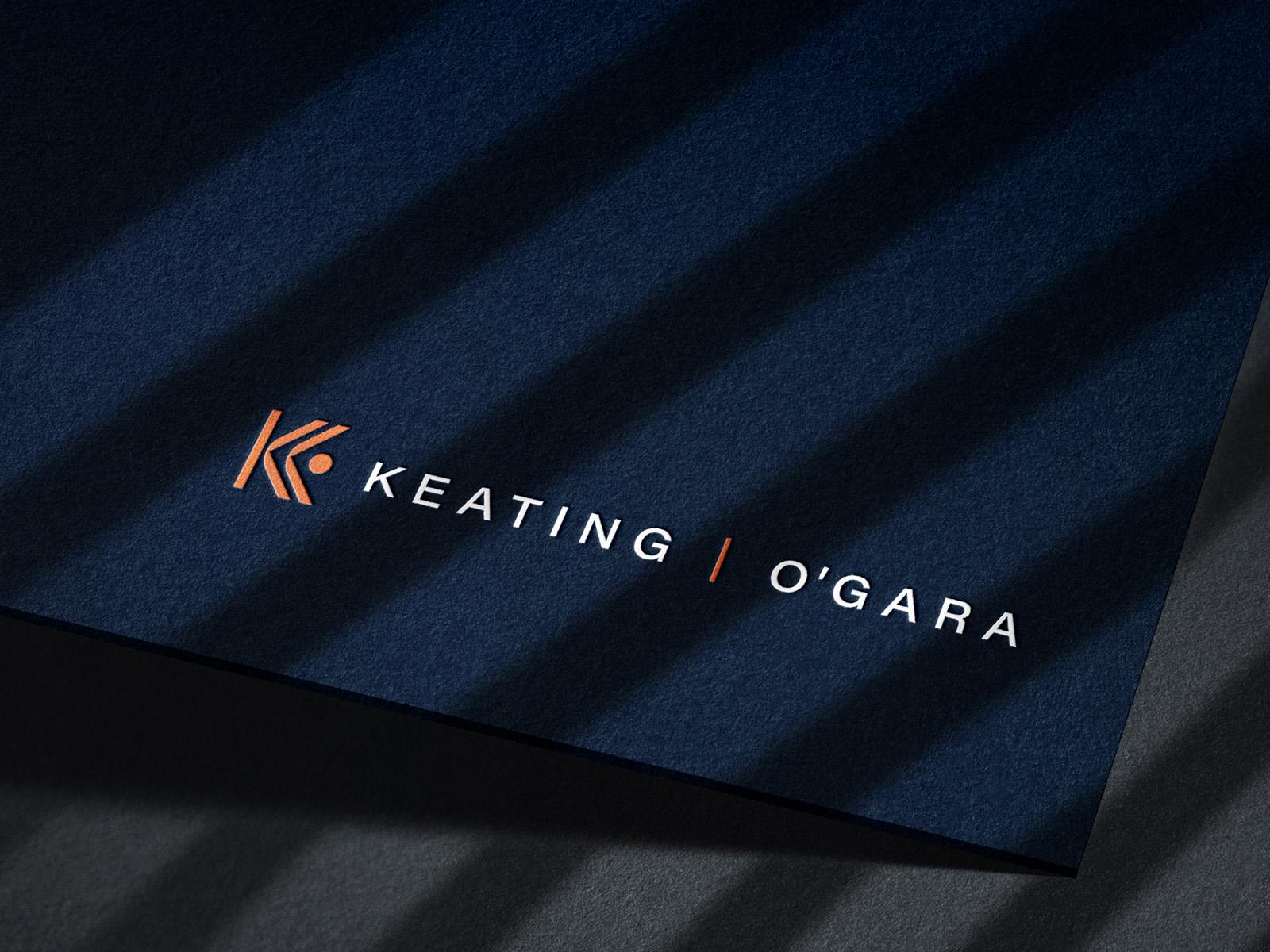 Keating O'Gara Law | Brand Identity