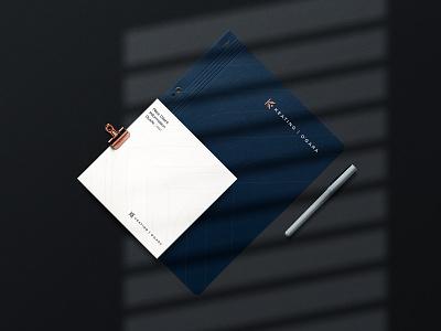 Keating O'Gara Law | Brand Identity mockup up mock firm law firm luxury elegant elevated mature lawyer law bold minimal logo design simple brand branding logo design