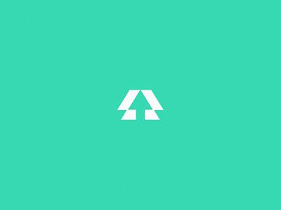Axios Workforce + Talent Development   Brand Identity arrow a college career work axios business development develop talent education school workforce minimal logo design simple brand branding logo design