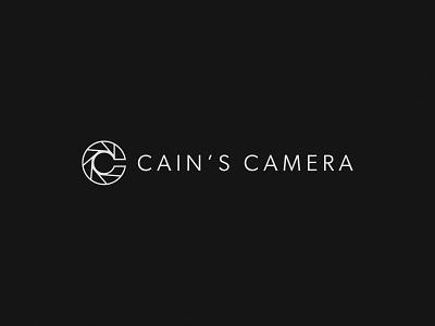 📷 Cain's Camera | Brand Identity 📷 aperature c georgria atlanta picture wed wedding love photography photo minimal logo design simple brand branding logo design
