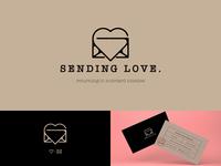 Sending Love Logo