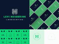 LH Landscaping Logo
