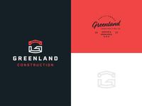 Greenland Construction Logo Concept