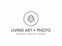 Living Art + Photo Logo