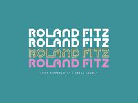 Roland Fitz- Logo Concept