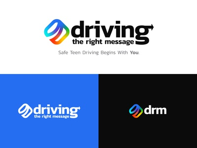Driving The Right Message Logo