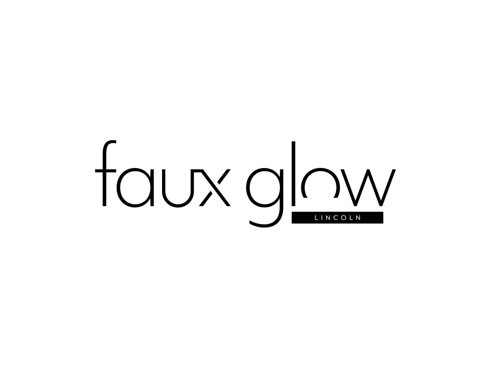 Faux Glow Lincoln   Brand Identity
