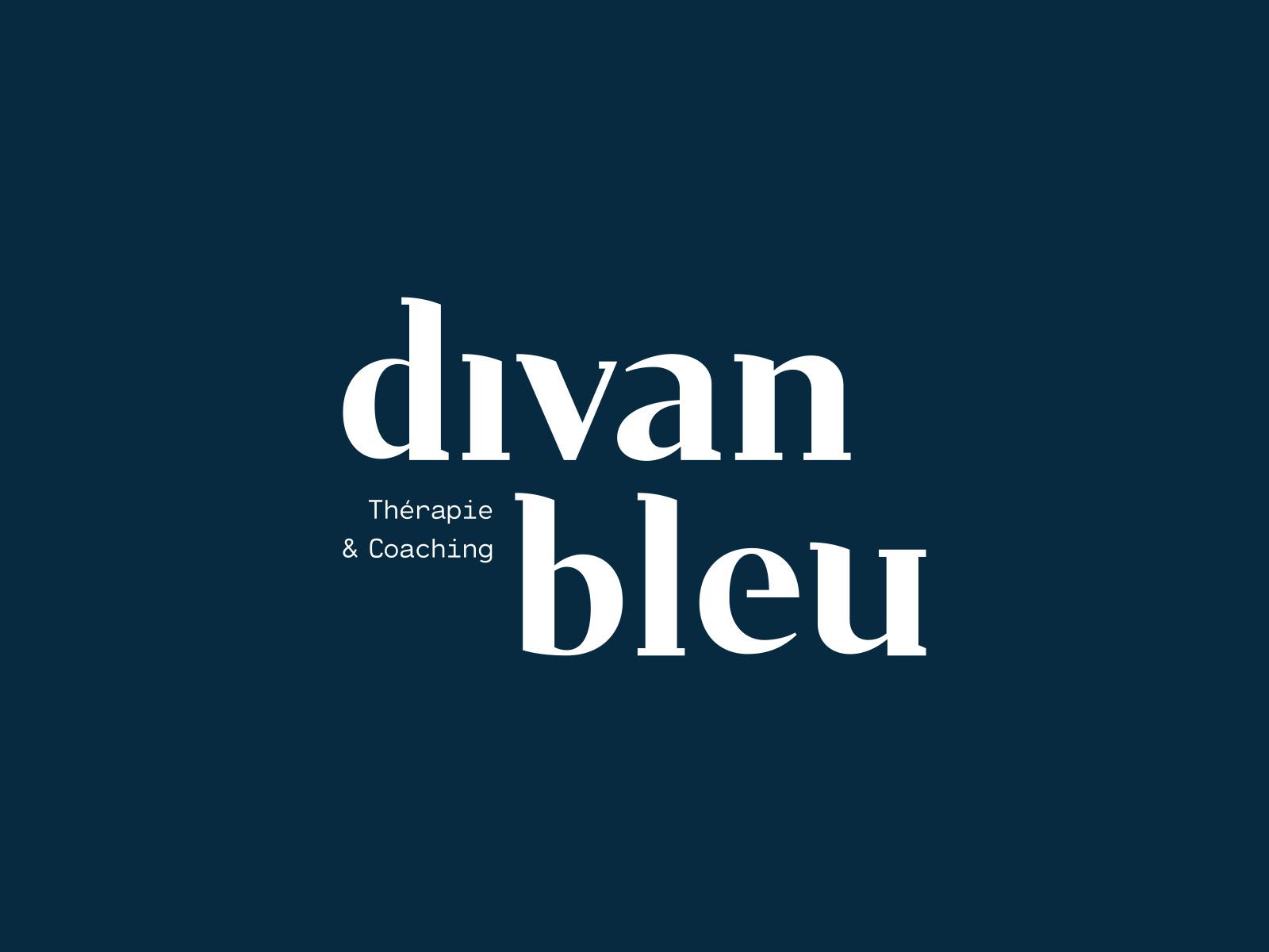 Divan Bleu   Brand Identity