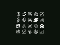 S Architecture Logo Sketches