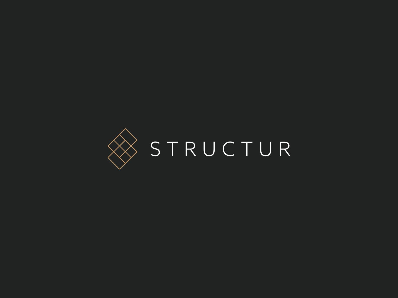 STRUCTUR   Brand Identity