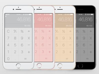 Calculator - Daily UI Challenge