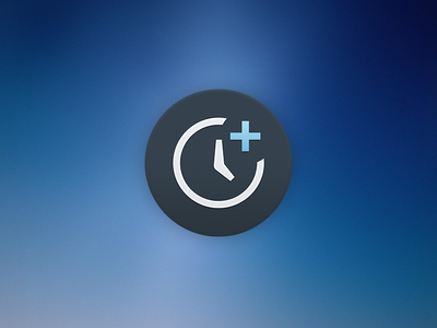 Timely Dock Icon icon dock yosemite replacement timely time tracking osx freebie free