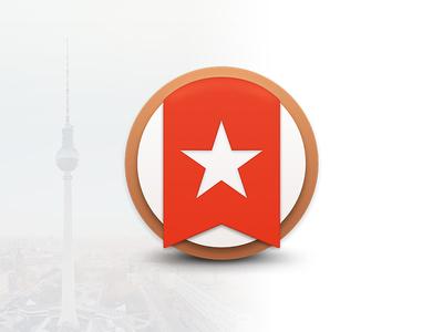 Wunderlist Replacement Icon wunderlist icon replacement dock mac freebie list yosemite