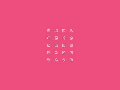 Creative Day Icons freebie mini icons glyphs 20px outlines line icons ui icons icon iconset icon set icons
