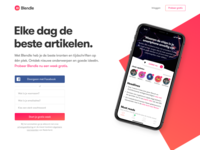 New Blendle Audio Landingpage