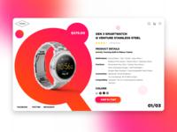 Fossil Q website design