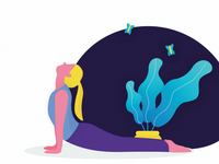 Yoga Illustration 2K18