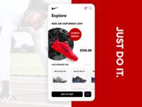 Nike App Concept Design :)