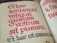Sketchbook Calligraphy