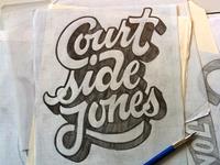 Courtside Jones Sketch
