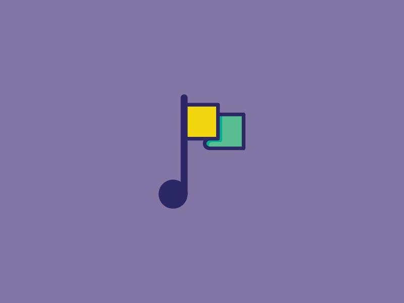 MusicFlag flag music