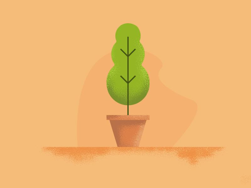 Plant Vector noise plant illustration vector