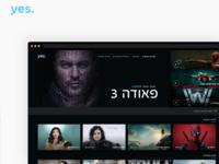 yes Redesign V2.0  - TV World case study