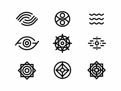 LPF Iconography Exploration flat vector logo illustration icon branding design
