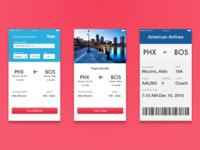 Flightshift - App Concept