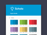 Style Guide - Schola