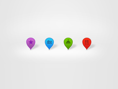Location Pins location icons map pin