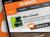 Grubber iPhone App