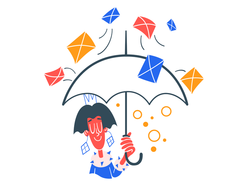 Unsubscribe Illustration user interface design user experience design vector illustration design resources character illustrations email newsletters interface illustration unsubscribe digital art ui ux web design illustration vector art design tools flat design graphic design design