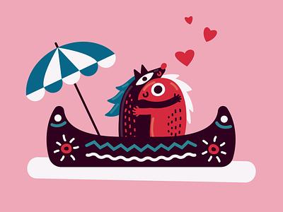 Happy Valentine's Day! love valentines day flat design illustration vector art graphic design