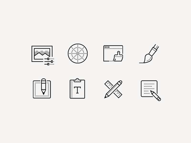 Creative process icons8 icon design