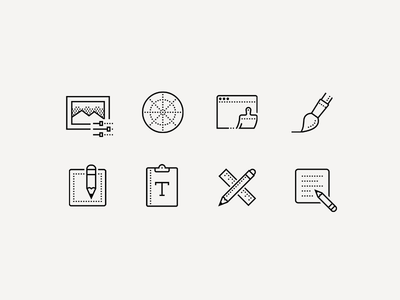 Creative Process Icons