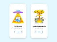 Free Interface Illustrations: Errors