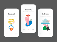 Interface Illustrations in Mobile UI