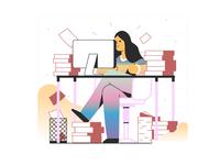 Interface Illustration: Productive Work